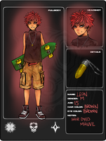 character application : leon by rachityrach