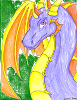 Elder Spyro by serpentscorch3422