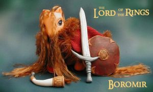 Boromir by customlpvalley