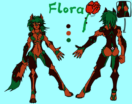 Flora reference sheet by DestinySpider