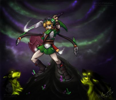LoZContest - Link - 2nd Place by Ferisae