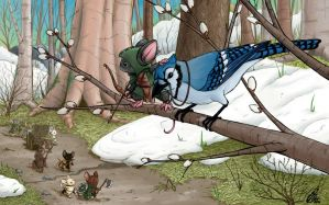 Mouse Guard: Pathfinders by Kanthara
