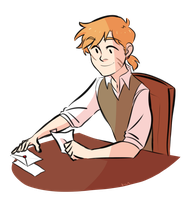 Young Remus by KyrieYsabelleZ