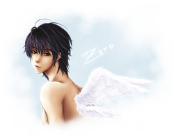 Zero in Angel mode complete by HelloSanta