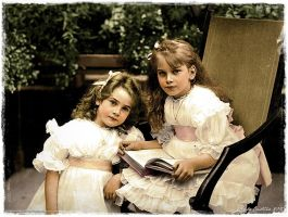 Two Little Ladies by TsarinaAlix