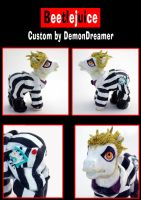 Beetlejuice MLP Custom by Demondreamer