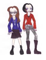 Daria and Jane: 2007 by TheDramaticMonarch