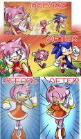 COMIC AMY by GaruGiroSonicShadow