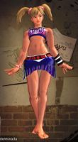 SFxT Mod - Xiaoyu: Barefooted Lollipop Chainsaw by Segadordelinks