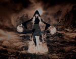 Elemental Witch : Fire by lovemydork