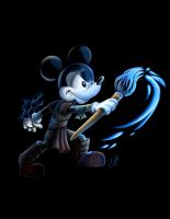 The Force is with Epic Mickey by racookie3