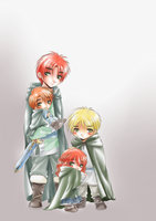 APH: Old Times by naccholen