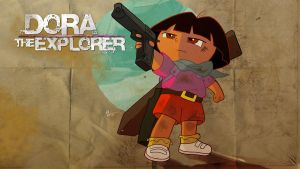Uncharted is Dora by lord-phillock