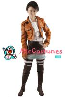 Attack on Titan Levi Rivaille Cosplay by miccostumes