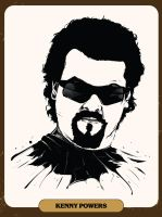 Kenny Powers by offsetpath