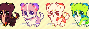 [CLOSED] Cheap Chibis - Witchpaws lines by Ice-Flakes