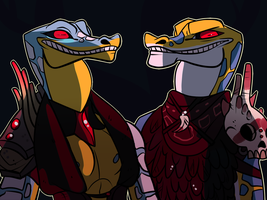 Gaters by savethedaisies