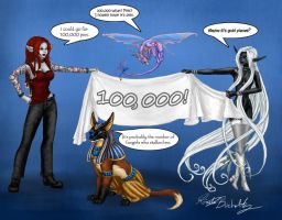 100,000 by PookaWitch