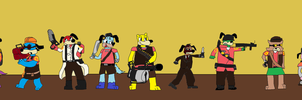 TOON FORTRESS 2 CROSSOVER EDITION - V3 by Mariolover54321