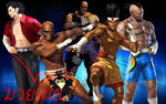 Muay Thai Fighters by LegendaryDragon90