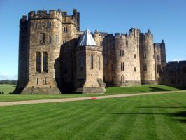 Alnwick Castle Stock 3 by Meta-Stock