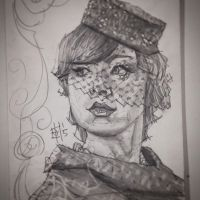 A very rich widow with a terrible secret. by tomasoverbai