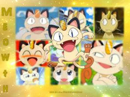 Team Rocket: Meowth by theLastFlowerchild