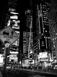 Times Square in Black Light by lightzone