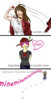 Hat Fight 2 by KayGee-Doodles