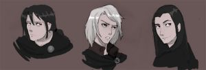 anime attempt again - volturi by Awkwardly-Social
