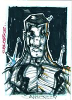colossus sketch card by CRISTIAN-SANTOS