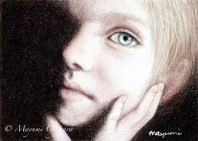 Window to the Soul - ACEO by MayumiOgihara