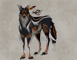 Design 1 for the wolfroad contest by azaskal