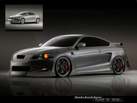 Honda Acord Coupe by dovlagfx