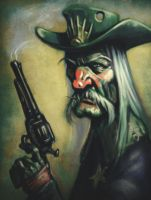 Grizzled Gunslinger by KrisCooper