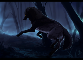 Swift as a shadow - Commission. by Eredhys