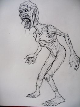 zombie concept by rplate1