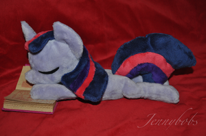 Twilight Sparkle beanie plush by Blindfaith-boo
