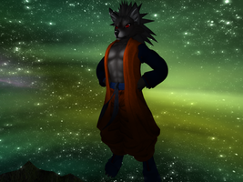 Updated Saiyan fox outfit by Draycko