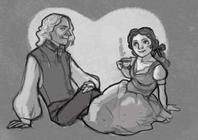 rumbelle tea by audreymolinatti