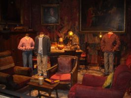 Gryffindor Common Room by Lexxa24