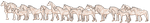 Mini Pixel Horse Base - 16 Breeds and foal by TuikKunen