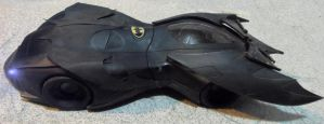 Old Batman Animated Custom Batmobile by skphile
