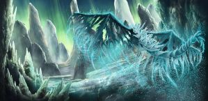 Frost Dragon by Hellkrusher