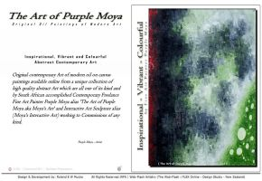 'The Art Of Purple Moya' Web Application - 003 by aktell
