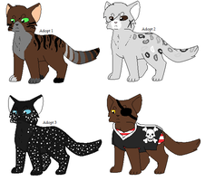 Cat adopts[Sold out] by MelThePika