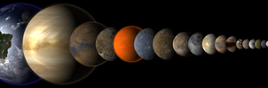 Solar System Original by 1Wyrmshadow1