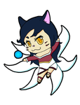 Chibi Ahri by DrSketch24