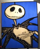 Jack Skellington... by mreffort
