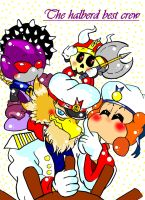 The Halberd best crew by Kirbycutieslove76
